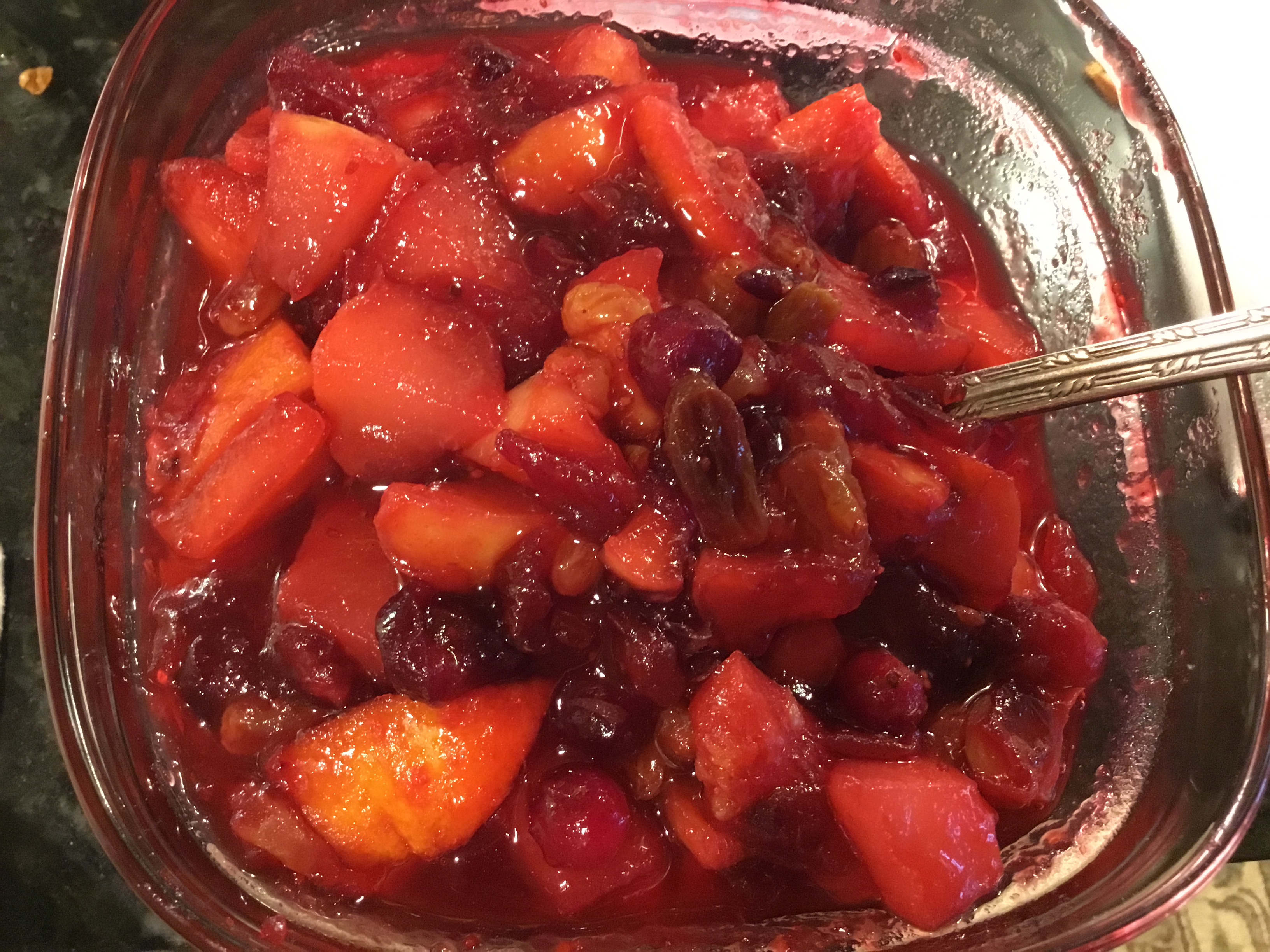 Fancy Cranberry Compote