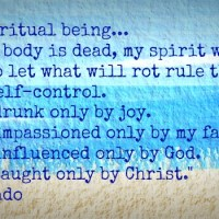 Being in Spiritual Control (Part 2)