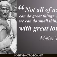 Words of Wisdom-Mother Teresa