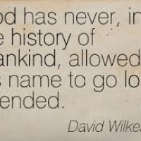 God Is Not Mocked....