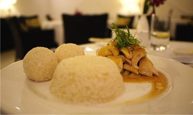 Food For Thought - Majestic KL - Hainaese Chicken Rice