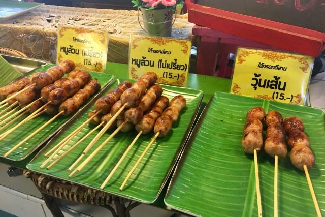 Sai Krok Isan | Isan Sausage Balls | Chiang Mai Street Food | Food For Thought