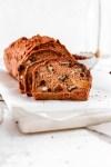 Nut & Fruit Bread (Gluten, Oil & Egg Free) From Front