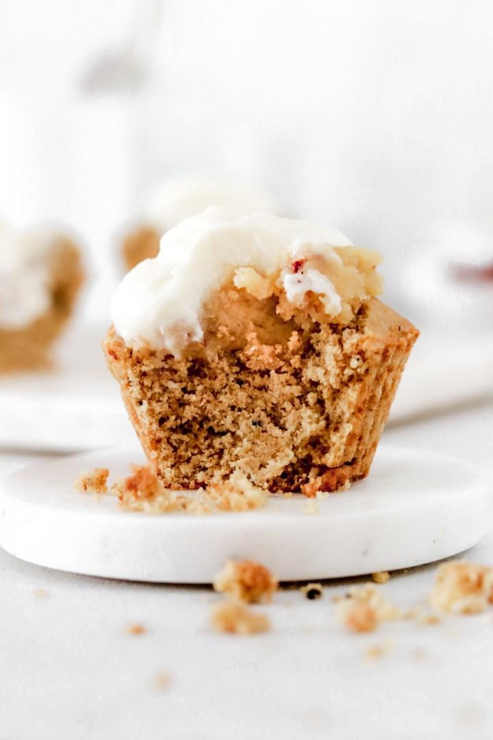 Swedish Semla Muffin (Vegan, Gluten & Sugar Free)