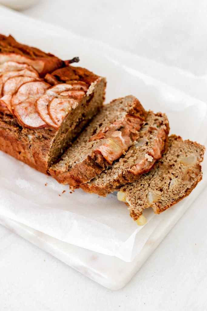 Pear Banana Bread (Gluten, Dairy, Sugar & Oil Free) From Close Up