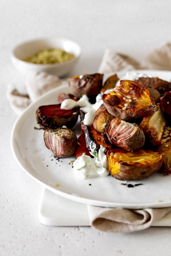 Roasted Beets & Carrots (Vegan & Gluten Free) From Close Up