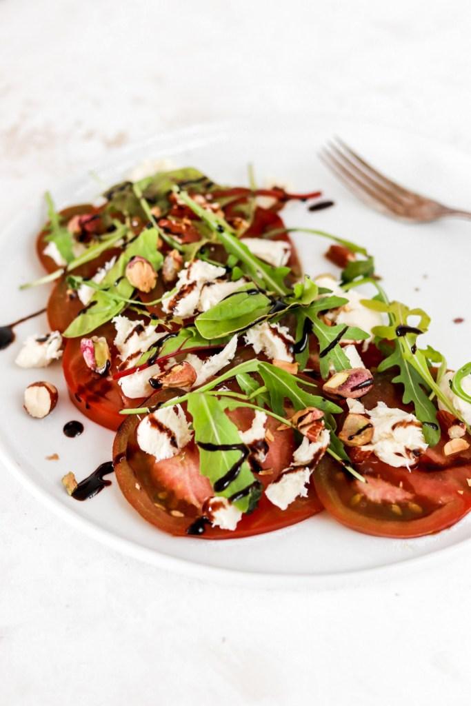 Tomato & Mozzarella Salad From Close Up