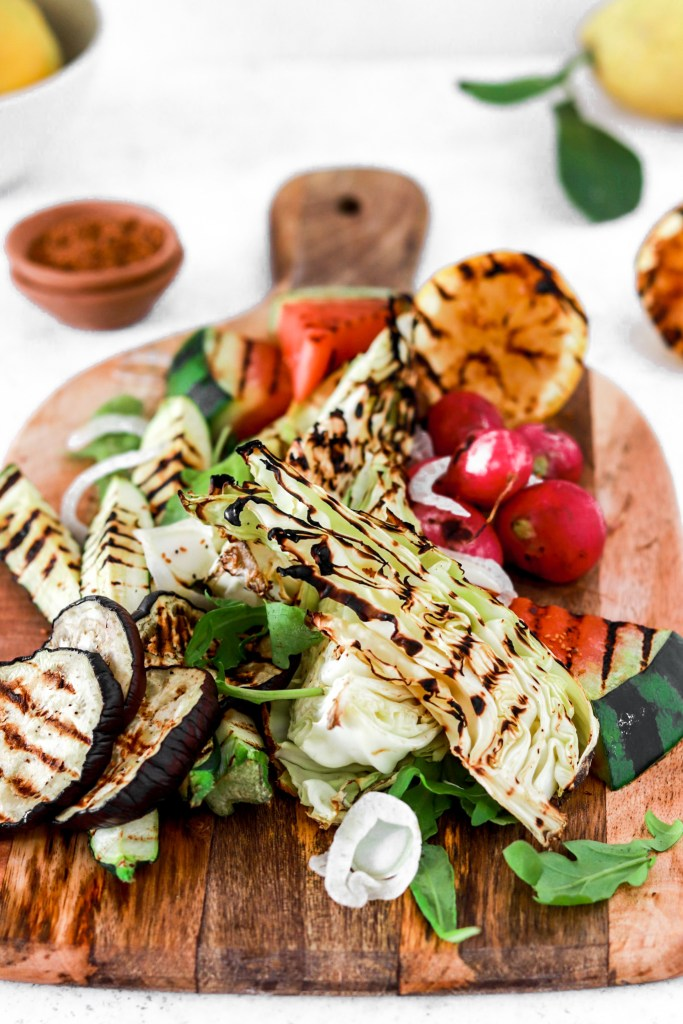 Grill Platter (Vegan, Gluten, Grain Free, Low Carb) From Front