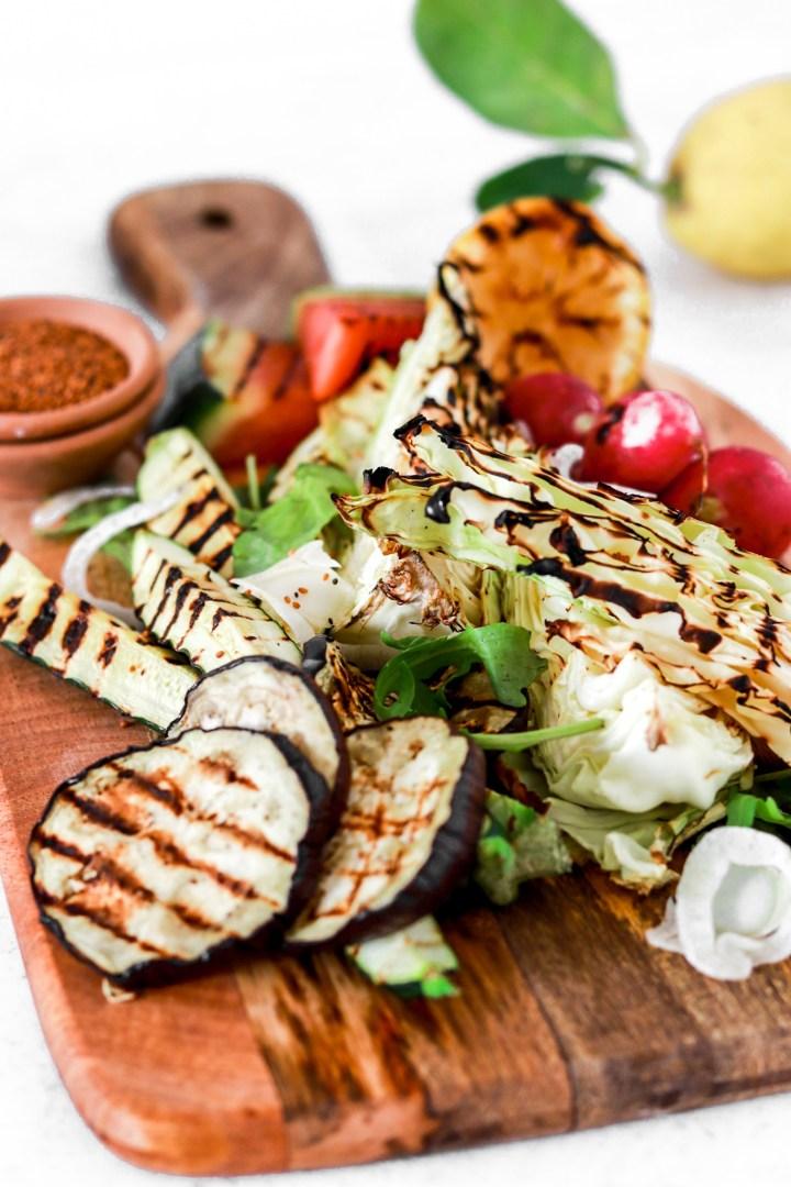 Grill Platter (Vegan, Gluten, Grain Free, Low Carb)