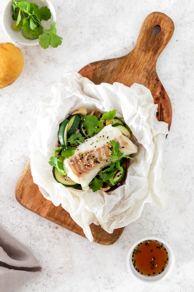 Asian Style Fish Package (Gluten, Grain Free & Low Carb) From Above