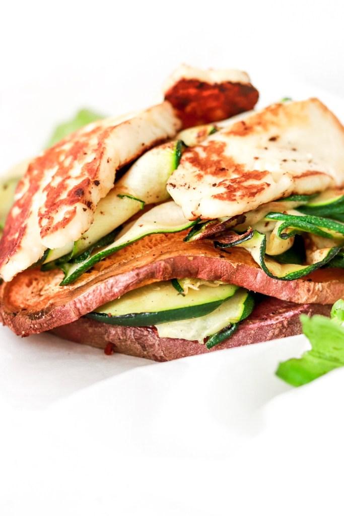 Halloumi & Sweet Potato Package (Vegetarian, Gluten & Grain Free) Close Up