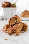 Fig Coffee Cake (Gluten & Refined Sugar Free) From Front Close Up