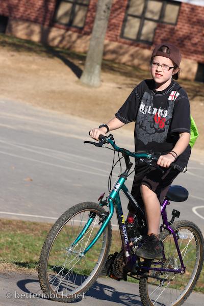 SOOC bike ride