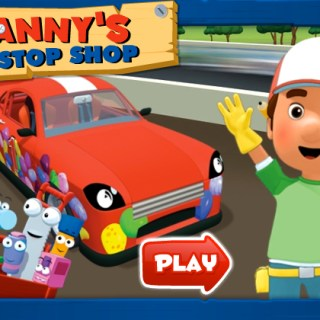 Handy Manny Pit Stop Shop Game