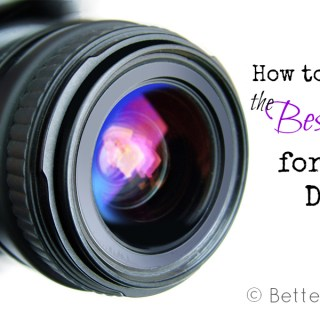 how to choose the best dslr lenses