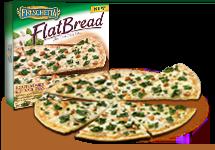 Freschetta flatbread-pizza-roasted-garlic-and-spinach