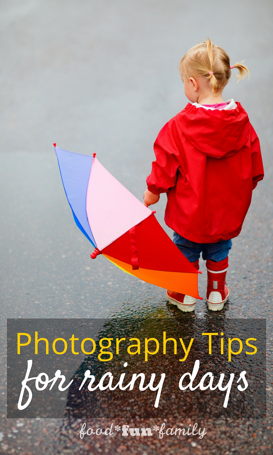 Photography Tips for rainy days - how to capture the best photos with your camera when the weather is wet, cloudy, and rainy.