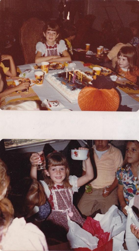 7th birthday - 1982
