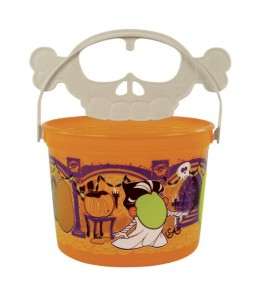 Orange Halloween Pail from McDonalds