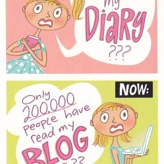 blogging birthday card 2010
