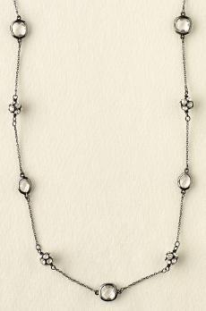 chelsea necklace hematite