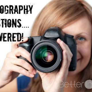 photography questions answered