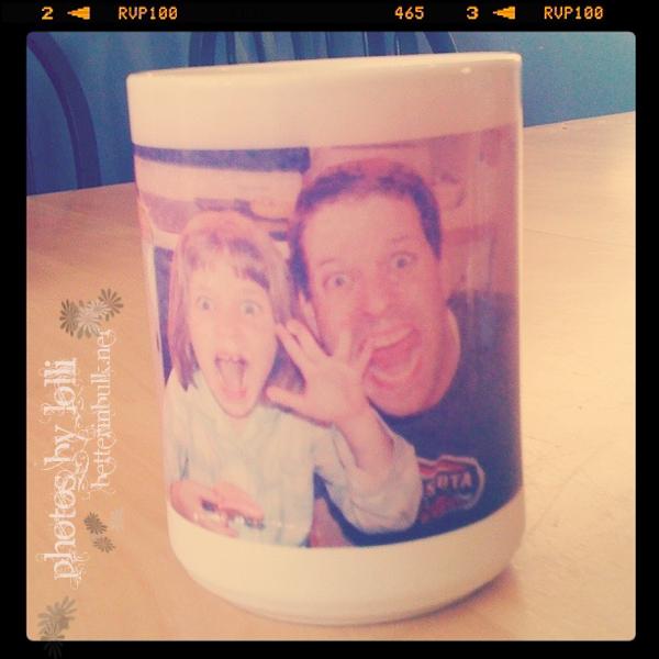 crazy family mug