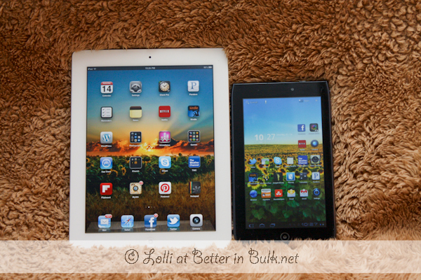 ipad versus android tablet