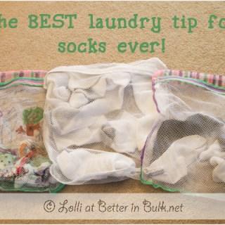 best laundry sock tip ever