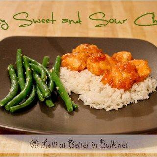 Sweet & sour chicken recipe Chinese food