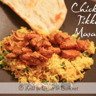 chicken tikka masala Indian recipe