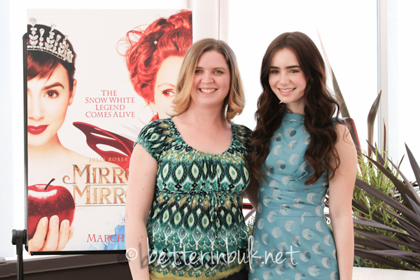 Lolli and Lily Collins