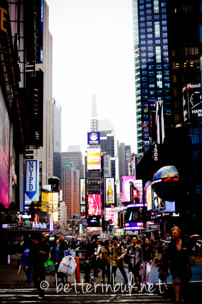 New York City Time Square