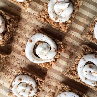 Cinnamon Roll Rice Krispie Treats from Better in Bulk