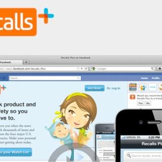 Recalls Plus App