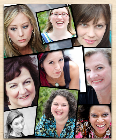 blogger head shot collage Type-A