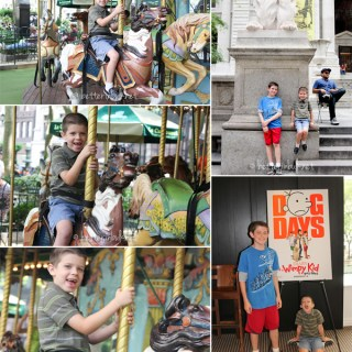 New York City With My Boys – Wordless Wednesday #linky