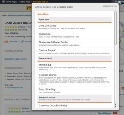 uncle julios yp.com app