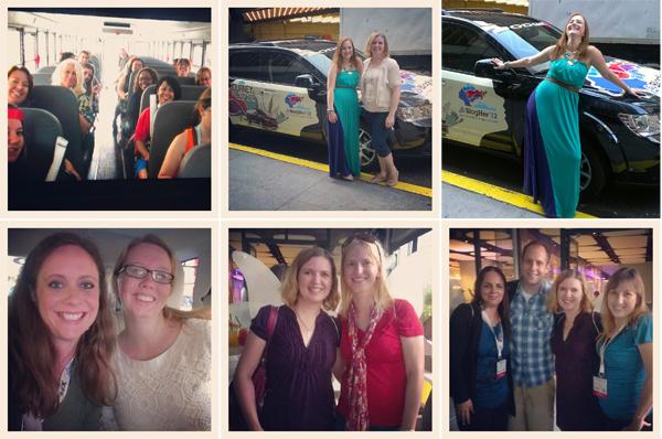 my #journeytoblogher #blogher12