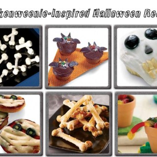 Halloween recipes from Frankenweenie