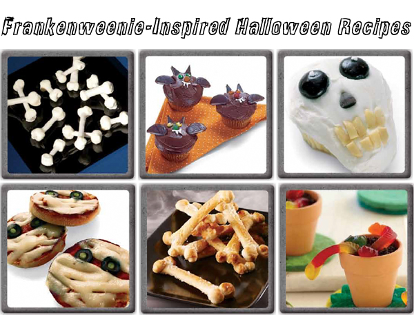 Halloween recipes from Frankenweenie