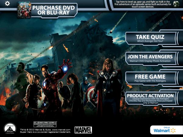 Avengers superhero augmented reality app
