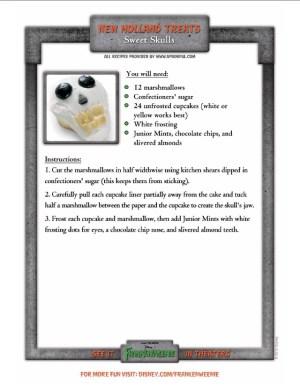 sweet-skulls Halloween recipe