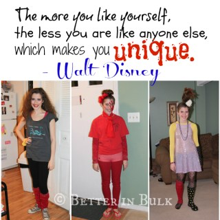 Proud to be Unique – Walt Disney Quote # PSF