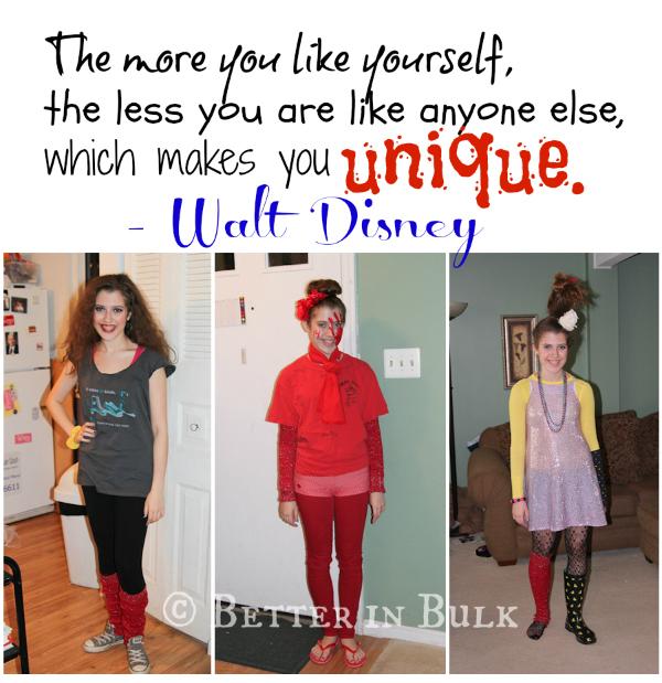 Walt Disney quote - be Unique