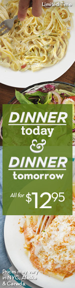 Dinner Today Dinner Tomorrow logo Olive Garden