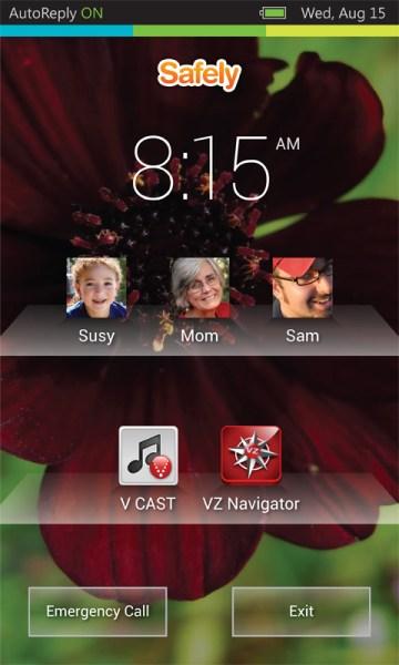 Safely_Go-Verizon_lock_screen
