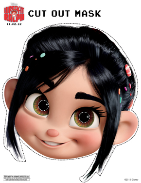 Vanellope Mask Wreck-It Ralph