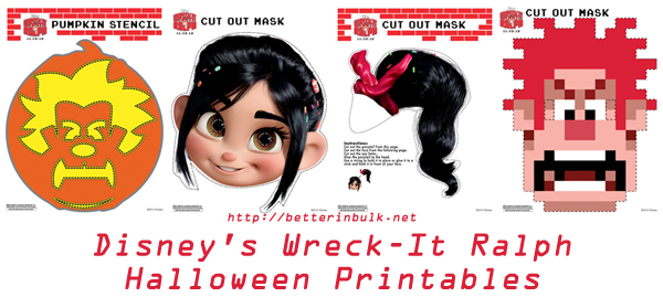 Wreck-It-Ralph printables