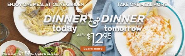 Olive Garden dinner-today-dinner-tomorrow